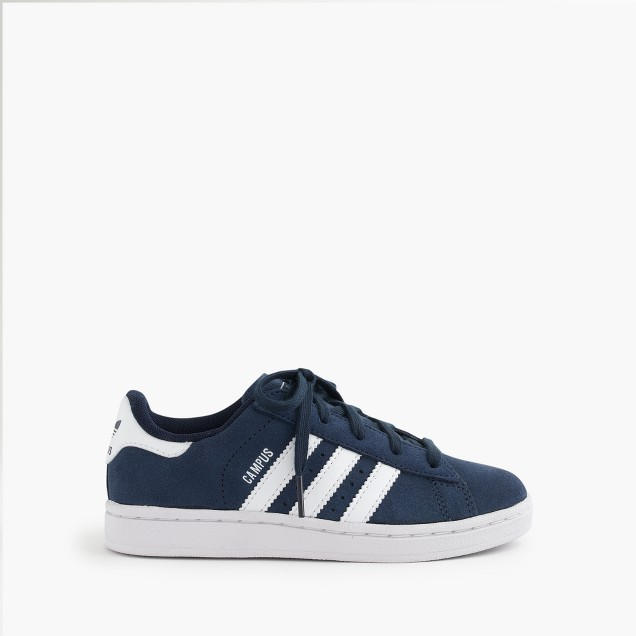 Kids' Adidas® Campus sneakers in larger sizes