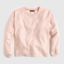 Brushed fleece sweatshirt