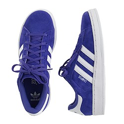 Kids' Adidas® campus sneakers in purple in larger sizes