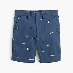 Boys' Stanton critter short in sharks and waves