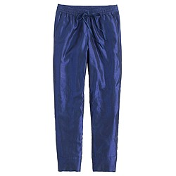 Metallic sweatpant