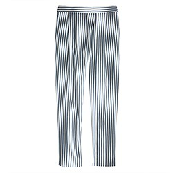 Crossover pant in stripe