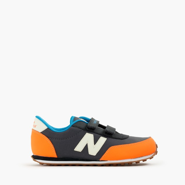 Kids' New Balance® for crewcuts glow-in-the-dark KE410 Velcro® sneakers in navy
