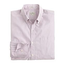 Secret Wash shirt in fine stripe