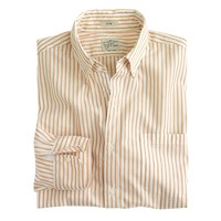 Slim Secret Wash shirt in medium stripe