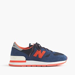 New Balance® for J.Crew 990 sneakers in indigo flame