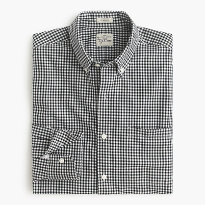 Secret Wash shirt in classic gingham