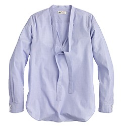 Collection Thomas Mason® for J.Crew secretary blouse