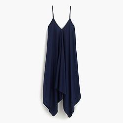 Crinkled handkerchief dress