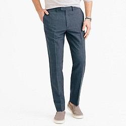 Bowery classic pant in cotton-linen