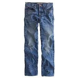 Point Sur shoreditch selvedge jean in chipman wash