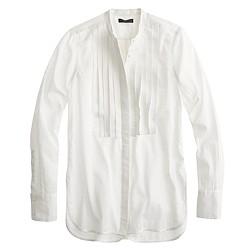 Tall grosgrain ribbon tux shirt