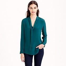 Collection silk secretary blouse