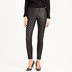 Petite Collection leather Ryder pant