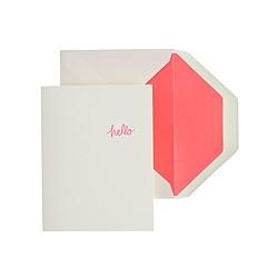Sugar Paper® hello card
