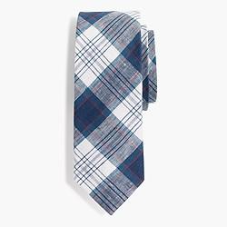 Irish délavé linen tie