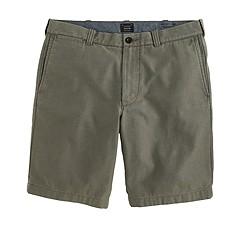"""9"""" Stanton short in textured cotton"""