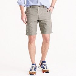 "9"" Stanton short in textured cotton"