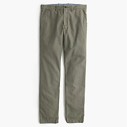 Textured cotton chino in 484 fit