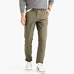 Textured cotton chino in 770 urban slim fit