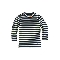 Baby rash guard in sailor stripe