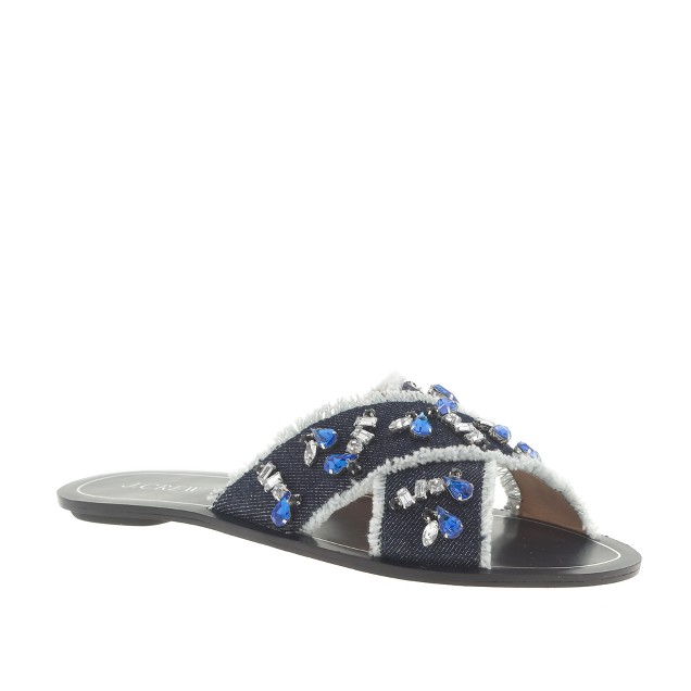 Cyprus jeweled sandals