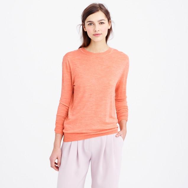 Relaxed merino wool sweater