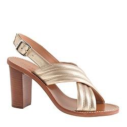 Metallic Marcie sandals