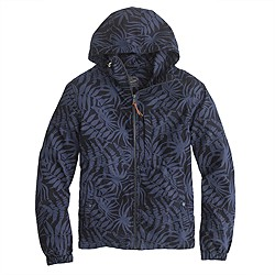 x150 hooded jacket in floral