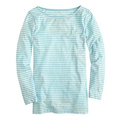 Painter boatneck T-shirt in stripe