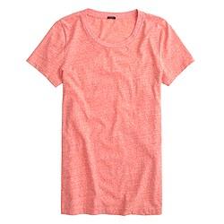 T-shirt in slub cotton