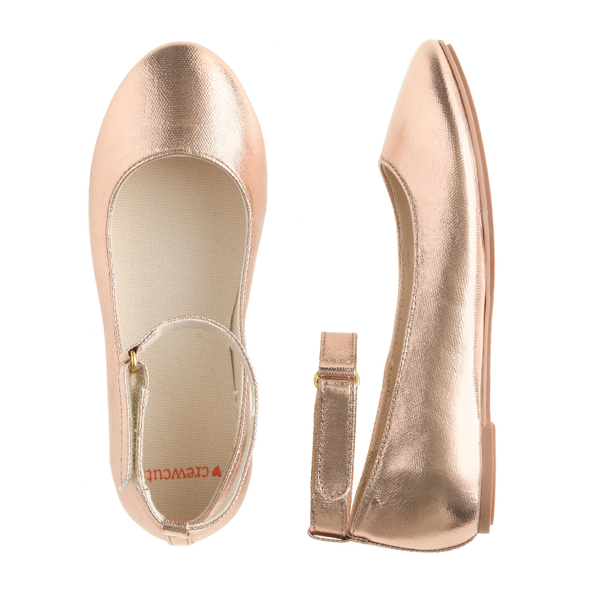Girls Ivory Dress Shoes