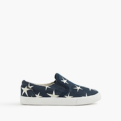 Girls' printed slide sneakers