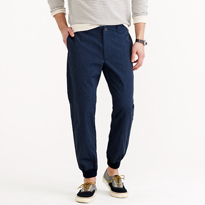 Shop cotton polyester jogger pants at Neiman Marcus, where you will find free shipping on the latest in fashion from top designers.
