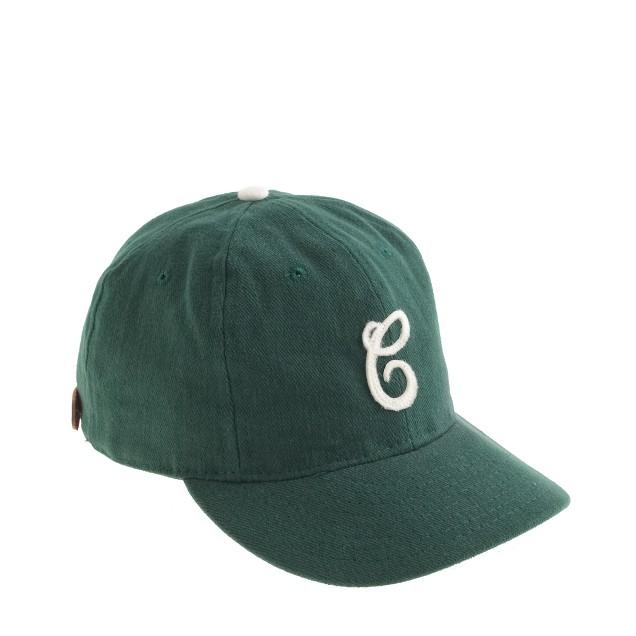 Ebbets Field Flannels® for J.Crew Cleveland Green Sox bull denim ball cap