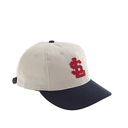 Ebbets Field Flannels® for J.Crew Salt Lake City Bees bull denim ball cap