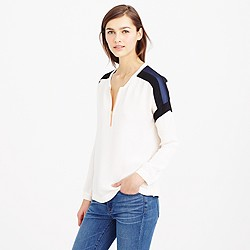 Collection colorblock blouse