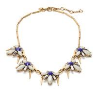 Spikey firefly necklace