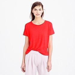 Linen boyfriend T-shirt