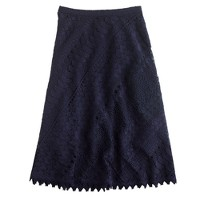 Collection lace circle skirt