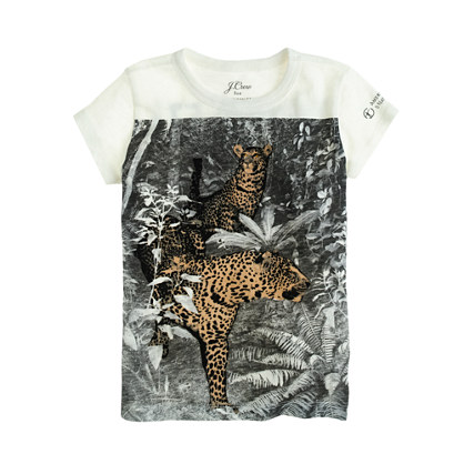 J.Crew for the American Museum of Natural History leopard T-shirt