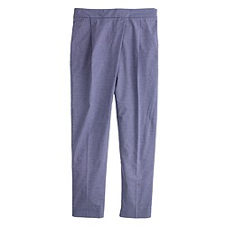 Crossover pant in chambray