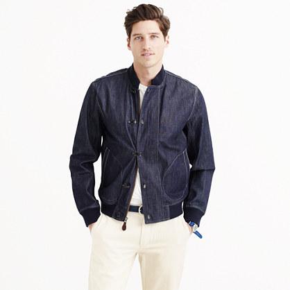 Wallace & Barnes denim deck jacket