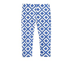 Girls' everyday capri leggings in ikat