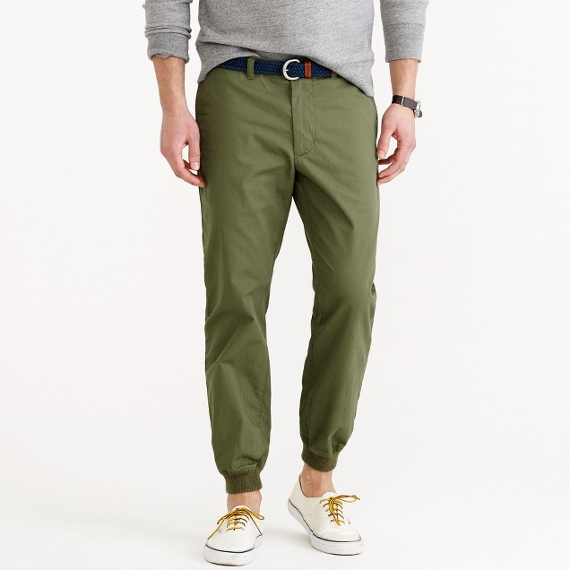 Levi's Men's Chino Jogger Pants. Like their awesome cargo joggers, Levi's does not come up short in producing some of the best chino joggers in the market.