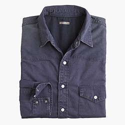 Chimala® denim western shirt