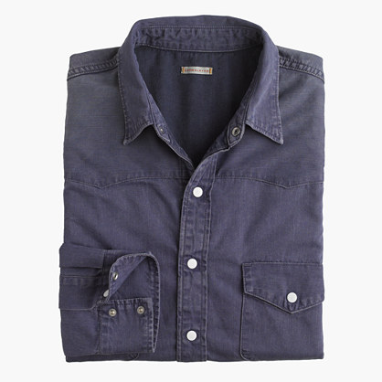 Chimala® denim western shirt