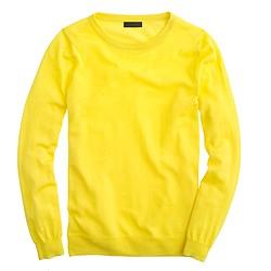 Italian featherweight cashmere long-sleeve T-shirt