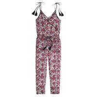 Tassel jumpsuit in firework floral