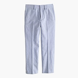Boys' Bowery pant in cotton oxford cloth